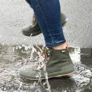 Keds Scout Water Resistant Lace Up Boot Green